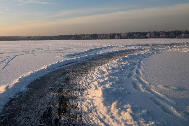 Ледовые переправы появятся в Омской области 15 декабря.