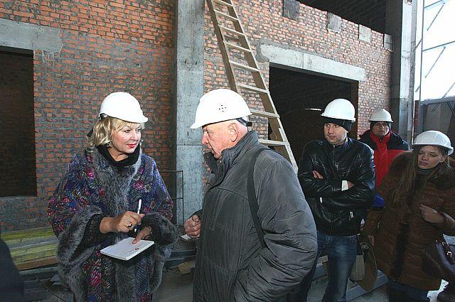 Татьяна Заболотная ознакомилась с ходом работ в игорной зоне.