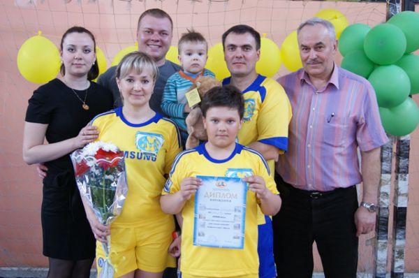 Участник №50. Семья Лайковых