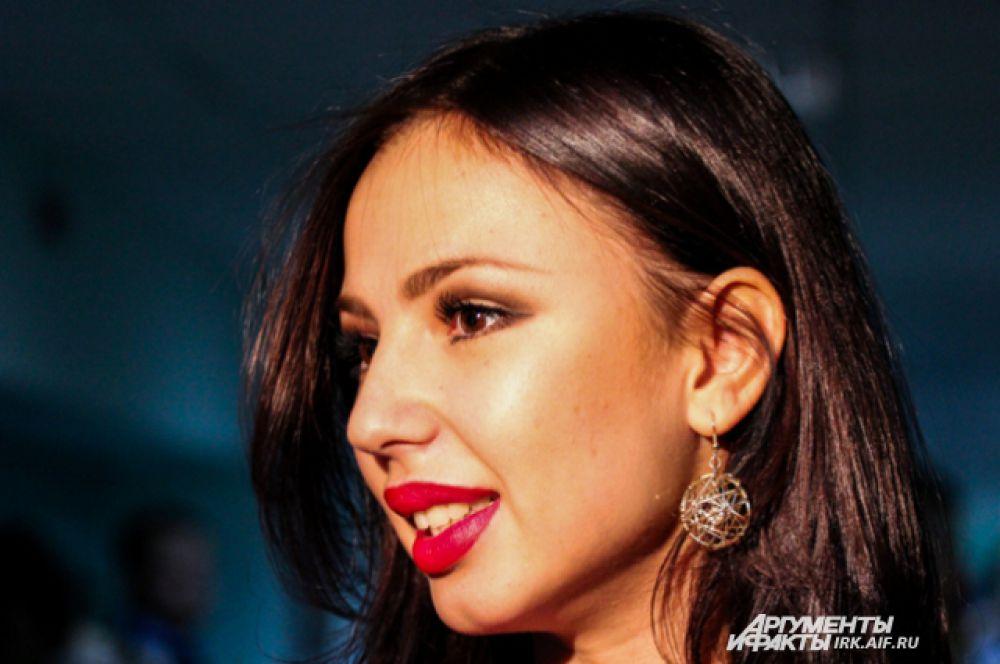 Звездой вечера стала олимпийская гимнастка Дарья Дмитриева.