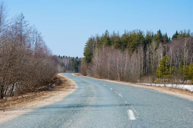 Новая подъездная дорога к деревне Крупское появилась в Омской области.