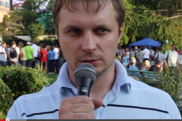 Егор Савин, лидер новосибирского отделения партии «РПР-Парнас».