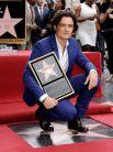 В апреле 2014 года на «Аллее славы» появилось имя Орландо Блума. Звезда большинства суперуспешных франшиз современности: «Властелин колец», «Пираты Карибского моря» и «Хоббит» пришел на церемонию со своим трёхлетним сыном Флинном. Поздравить Блума, который недавно расстался со своей супругой известной моделью Мирандой Керр, пришли его родители, а также коллеги Форест Уитакер и продюсер Джерри Брукхаймер.