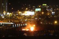 Пожар на стройплощадке