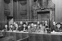 Синхронные переводчики на Нюрнбергском процессе.