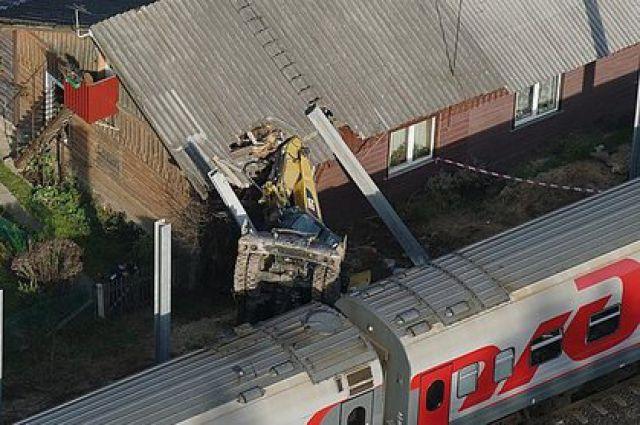 Авария с экскаватором произошла 27 октября. Фото с сайта http://www.lrytas.lt/