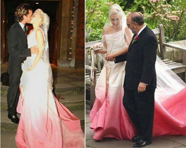 Гвен Стефани в платье Джона Гально для Dior