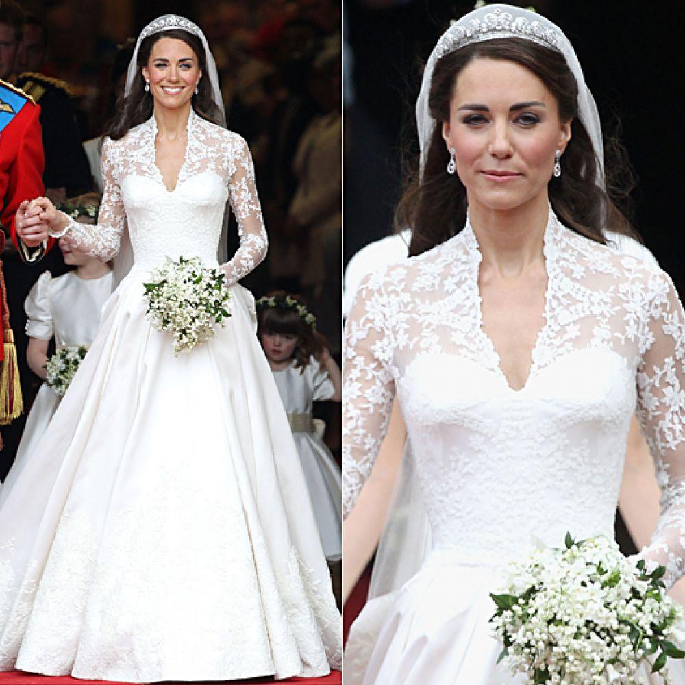 Кейт Миддлтон в платье Alexander McQueen