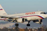 Самолет из РФ