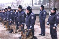 Подразделение кинологов в милиции