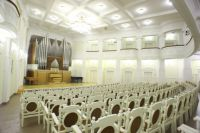 В Органном зале будут транслировать концерт из зала имени П.И. Чайковского филармонии России.