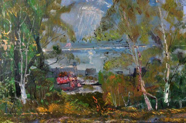 Одна из картин Николая Тимофеева.