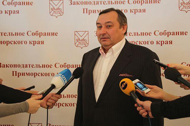 Депутат Законодательного Собрания Приморского края Сергей Ищенко.