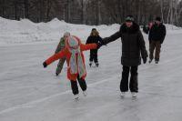 Покататься на коньках этой зимой омичи смогут в «Омской крепости».