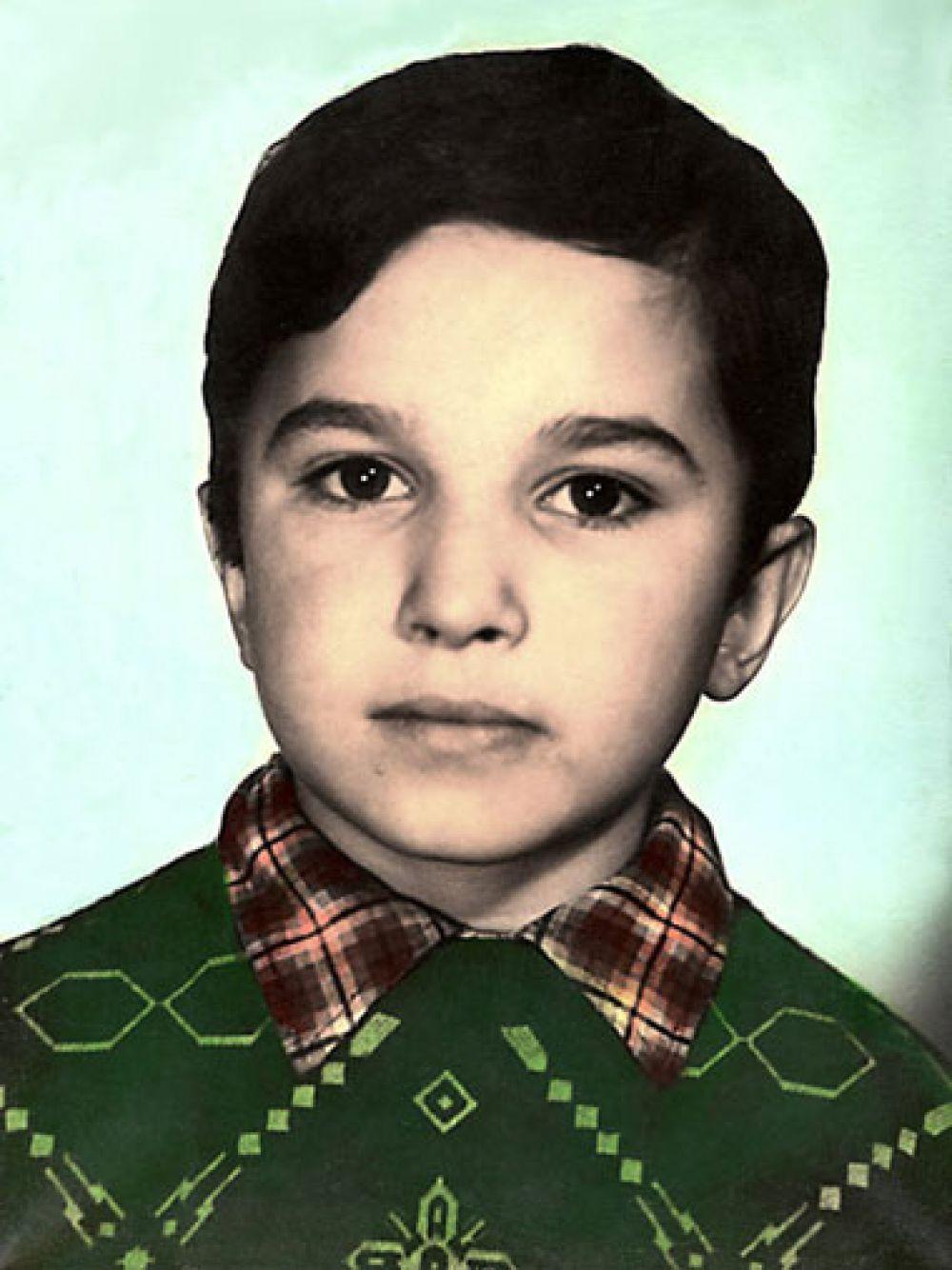Виктор Павлик, 8 лет