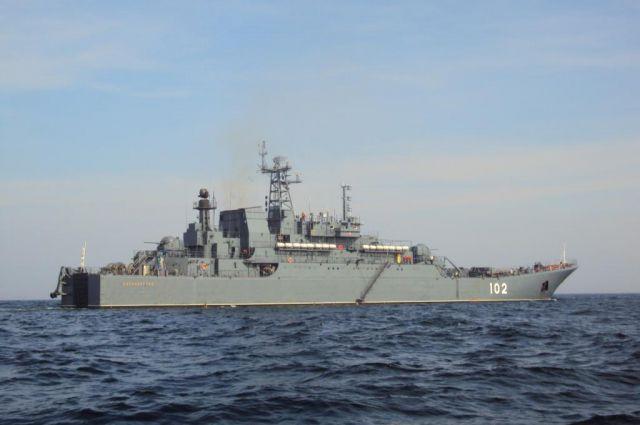 «Калининград» почти год провел в Средиземноморье.