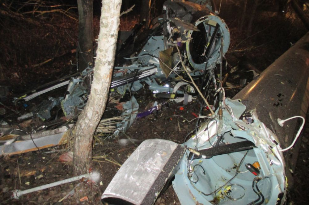 Частный вертолет «Еврокоптер» потерпел крушение в Кстовском районе