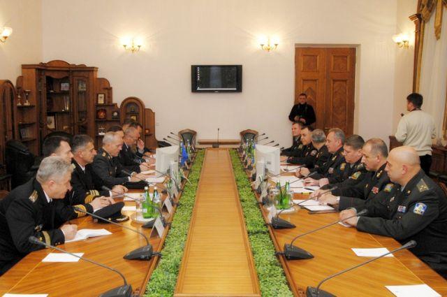 Делегация НАТО в Минобороны