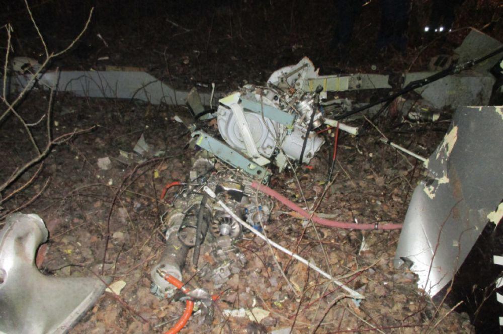В результате крушения погибли пять человек, в том числе восьмилетняя девочка