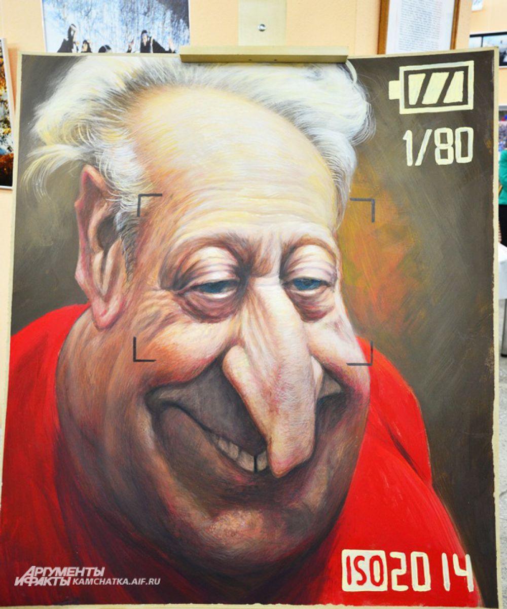 А таким Игоря Владимировича увидел Денис Лопатин, известный художник и карикатурист.