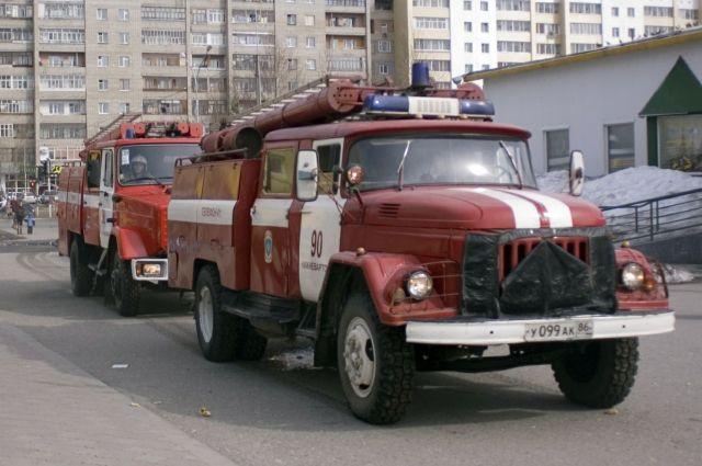 Вчера пожарные не выезжали на вызовы, потому что их не было.
