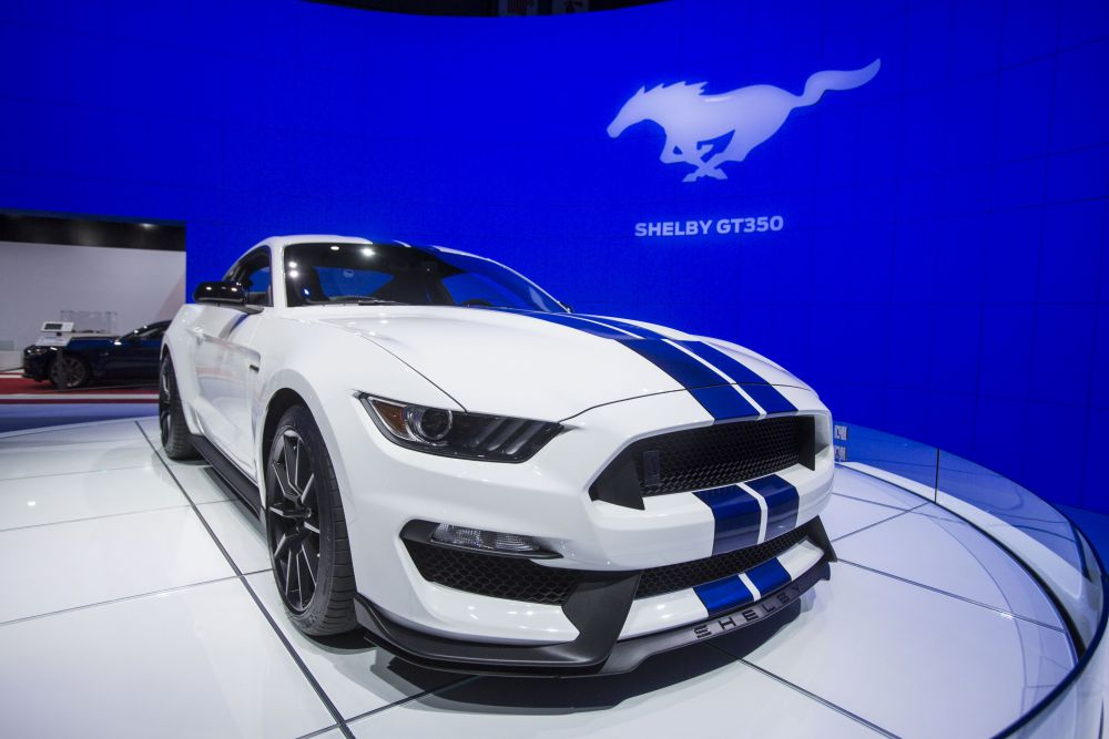 Ford's Shelby GT-350