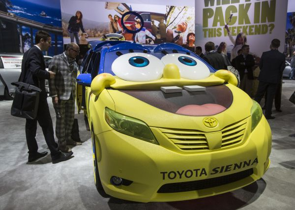 Toyota SpongeBob