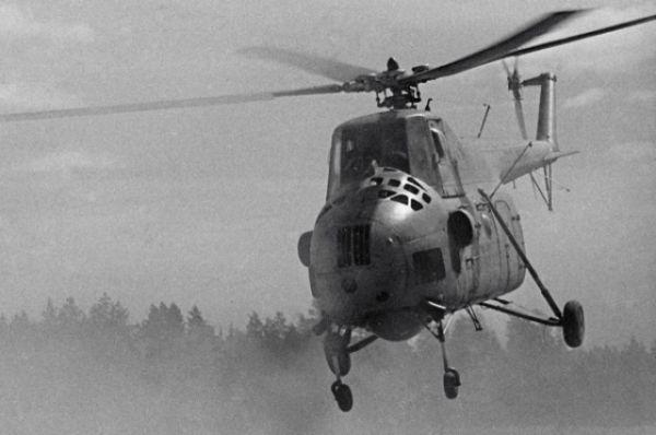 Ми-4 – первый военно-транспортный вертолет вооруженных сил СССР.