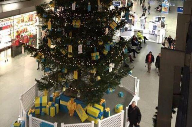 Новогодняя елка в Лондоне