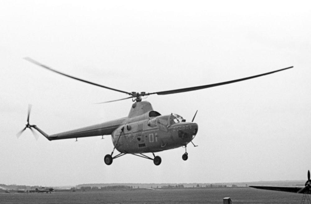 Ми-1 – первый серийный вертолет Михаила Миля.