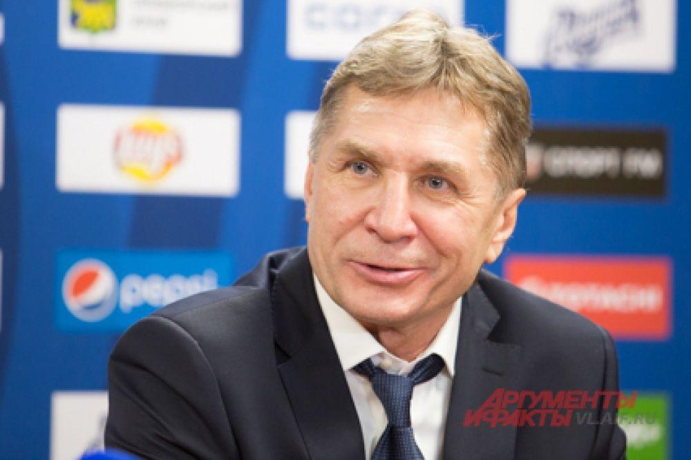 Новый тренер ХК «Адмирал» - Сергей Шепелев.
