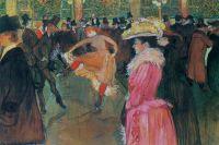 «Танец вМулен Руж». 1890.