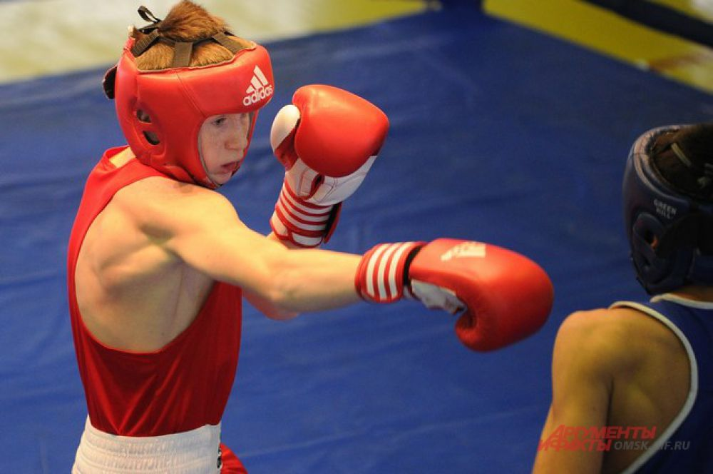 В Омске состоялся турнир по боксу памяти А.М. Малунцева.