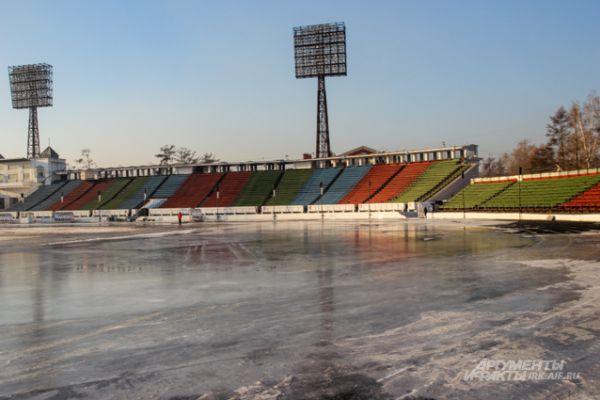 Стадион «Труд» готовят для спортсменов круглосуточно.