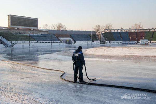 Однако сказать, когда лед будет готов полностью, не может никто.
