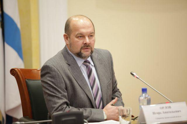 Глава Архангельской области Игорь Орлов