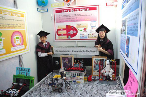Участники из Японии представили проект марсианской станции. Они утверждают, что люди высадятся на красную планету в 2050 году.