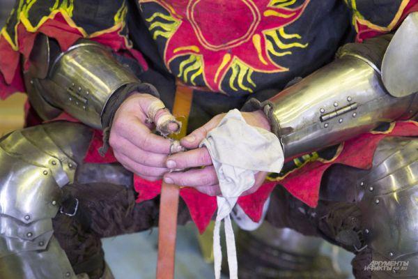 Средневековые бои и в наши дни травмоопасный вид спорта