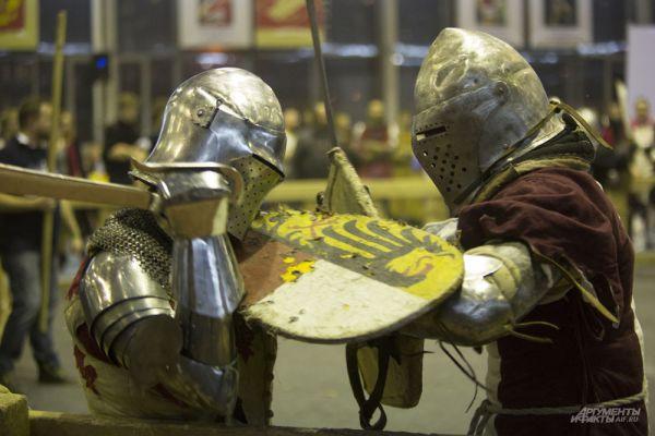 Но самое интересное происходит, когда рыцари остаются один на один