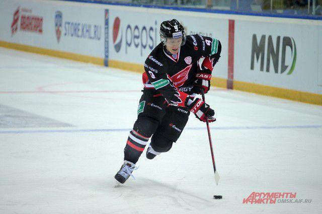 Омские хоккеисты обыграли «Металлург».