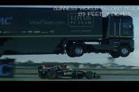 Каскадер побил рекорд Гиннеса по прыжкам в длину на грузовиках