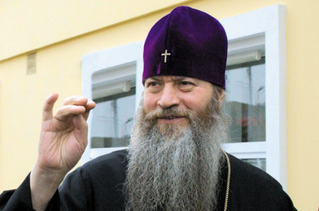 Владыка Тихон, митрополит Новосибирский и Бердский.