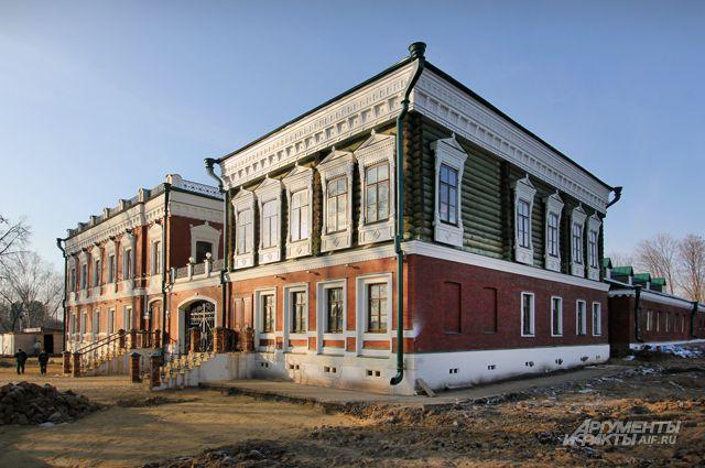 Уже в этом году имение купца Аигина примет первых посетителей в качестве апарт-отеля.