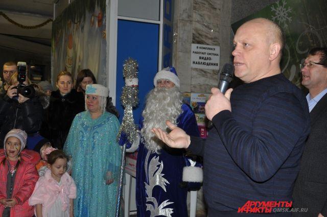 Первая Губернаторская елка в Омске пройдет 24 декабря.