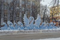 Светодинамическая композиция «Лебедь на волнах».