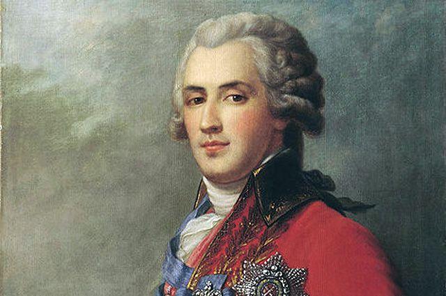 Портет Платона Зубова кисти Ивана Эггинка.