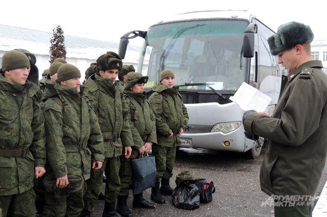 Аншлаг в армию в чечне проходит