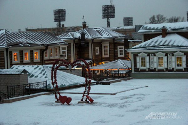 130-й квартал заметало снегом до самого вечера.