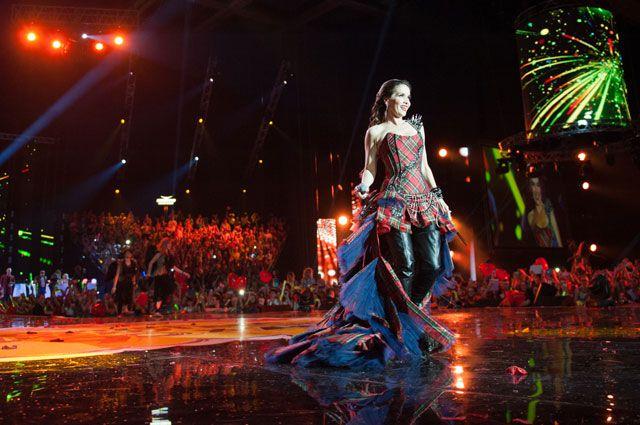 Наталия Орейро уже прибыла в Омск, чтобы дать концерт.