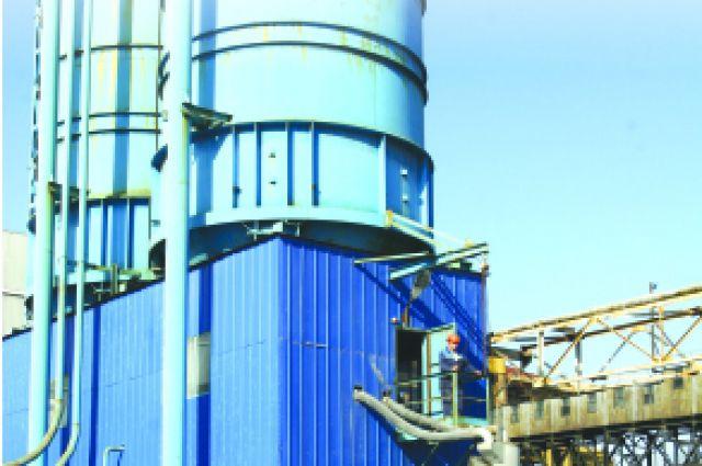 Установка отбора сухой золы уже давно функционирует на ТЭЦ-4.